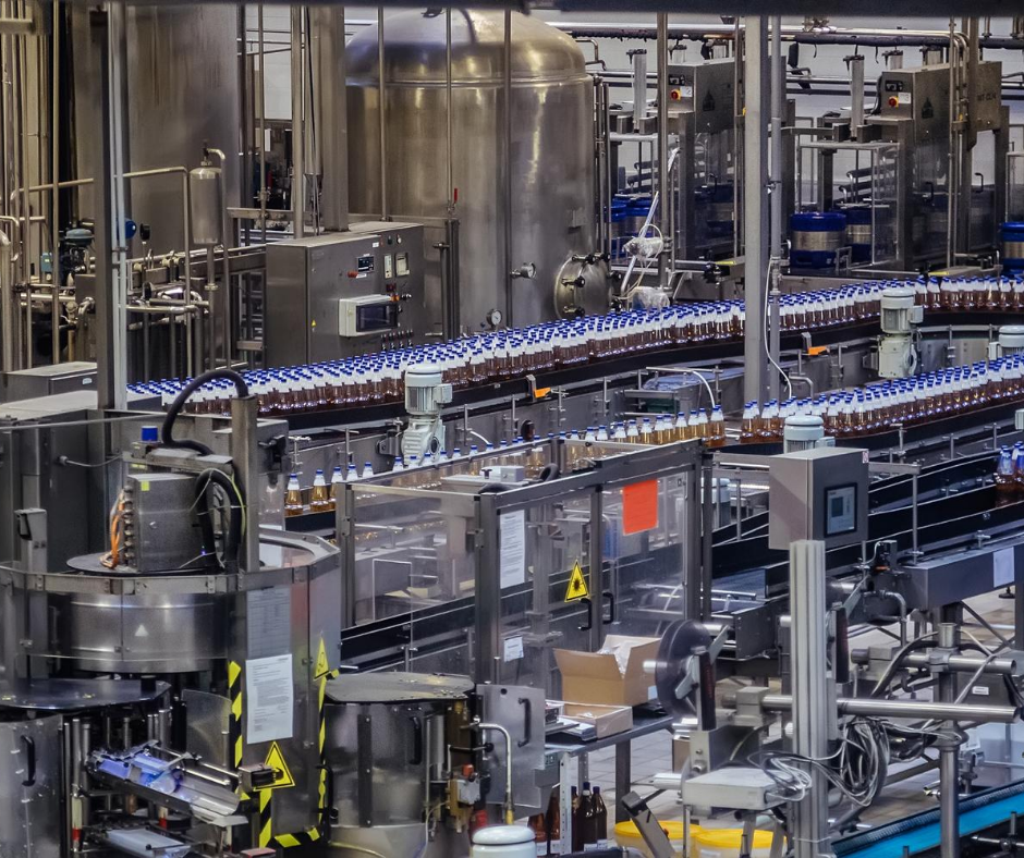 machine vision in bottling industry